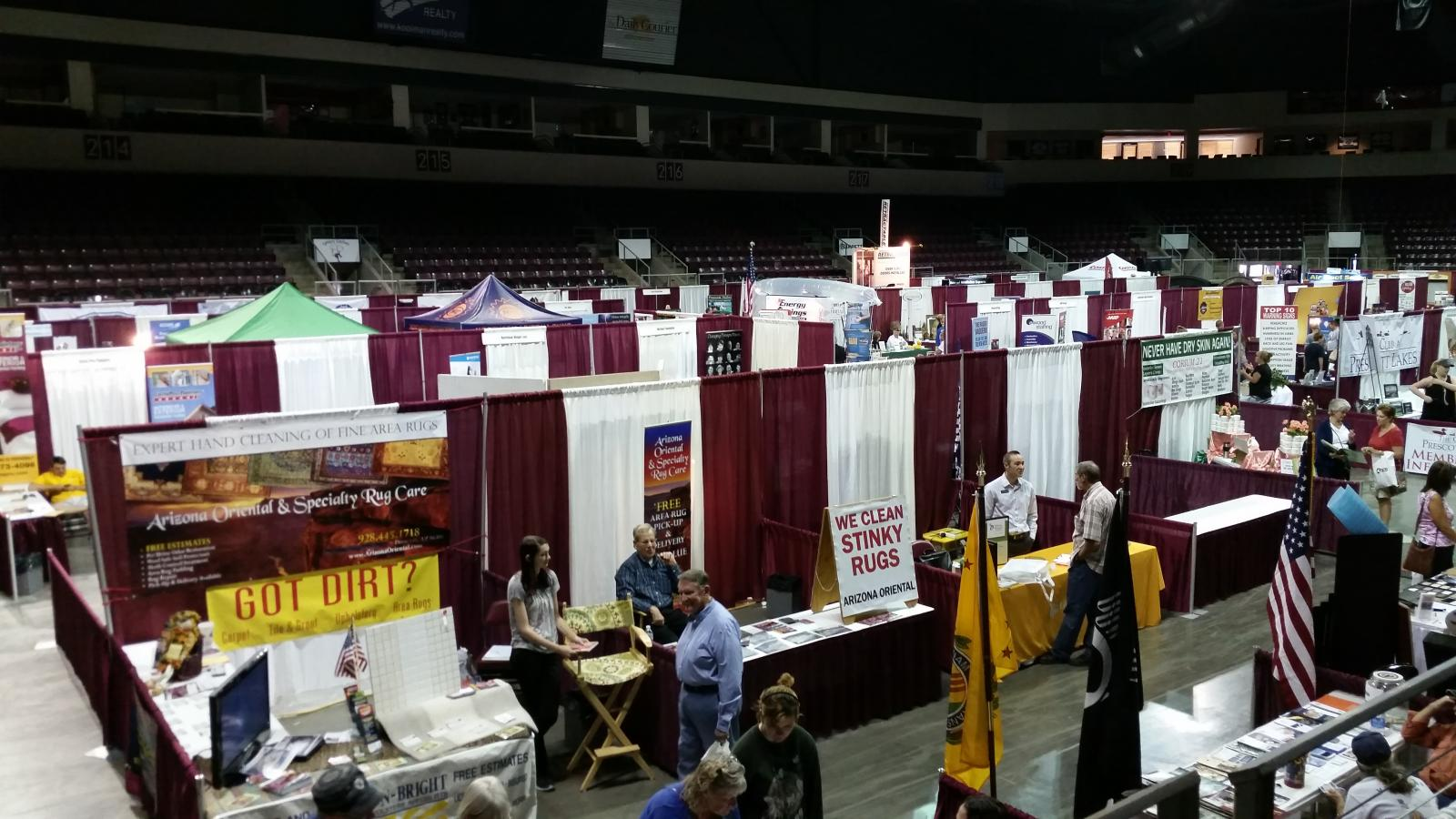 Rug Cleaning Showcased At The Prescott Valley Event Center