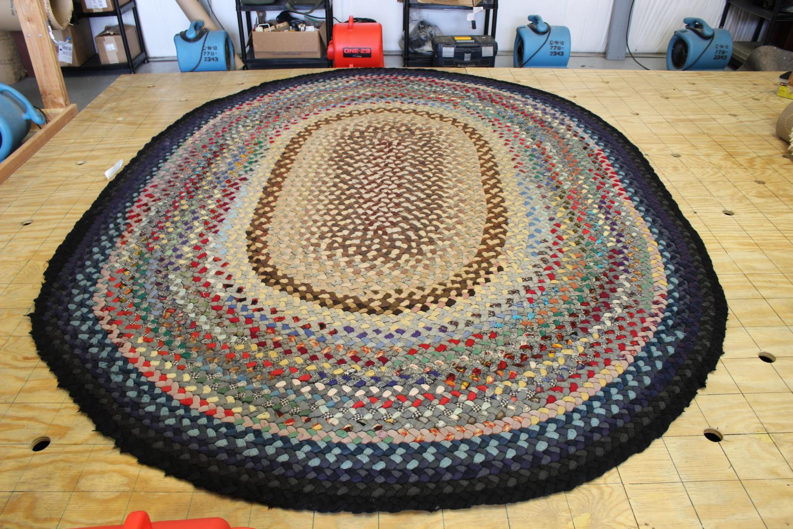 What To Do With A Braided Rug That Is Falling Apart